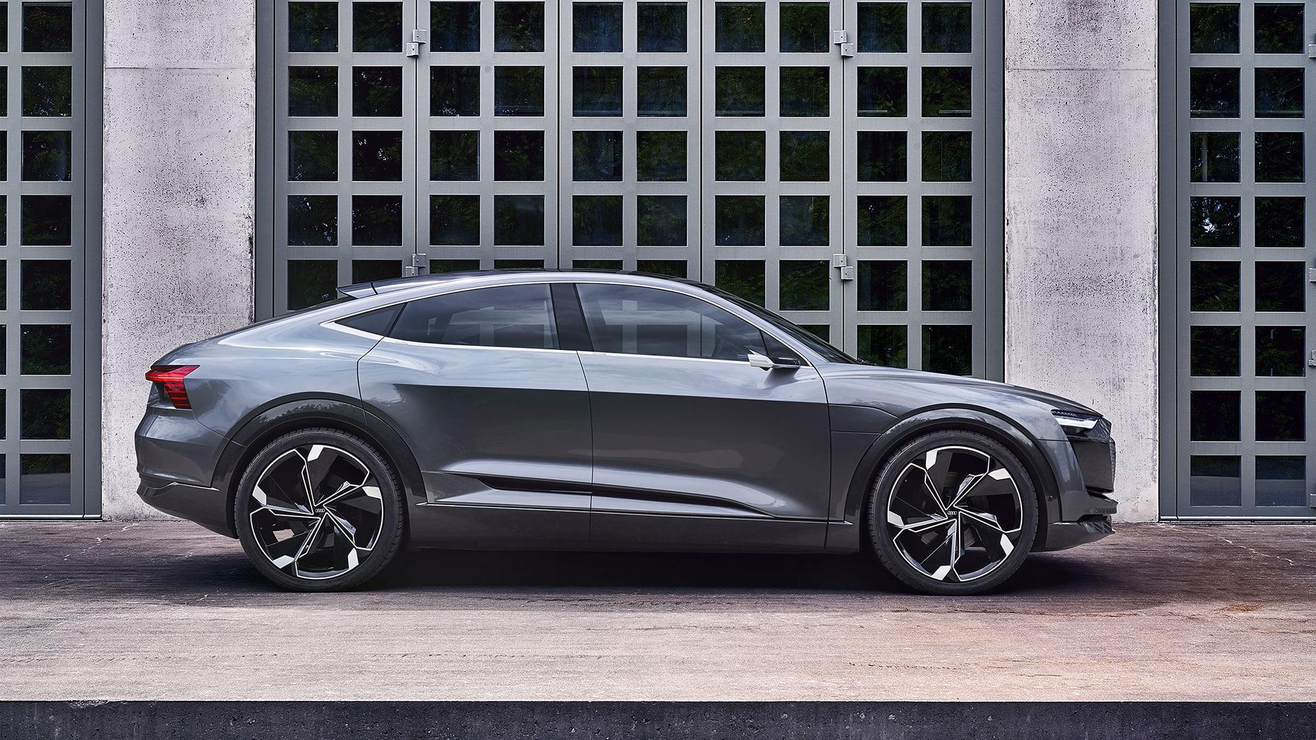 Der Audi E Tron Sportback Concept Und Quattro