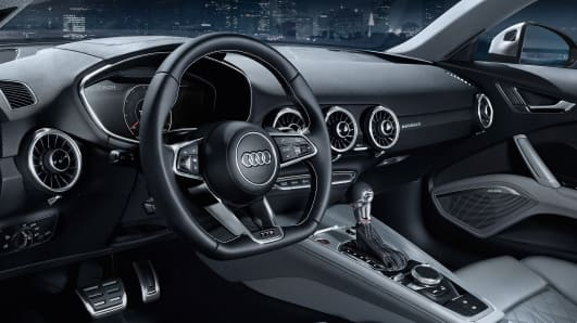 Interieur gallery new audi tt coup audi sa new for Interieur audi tt