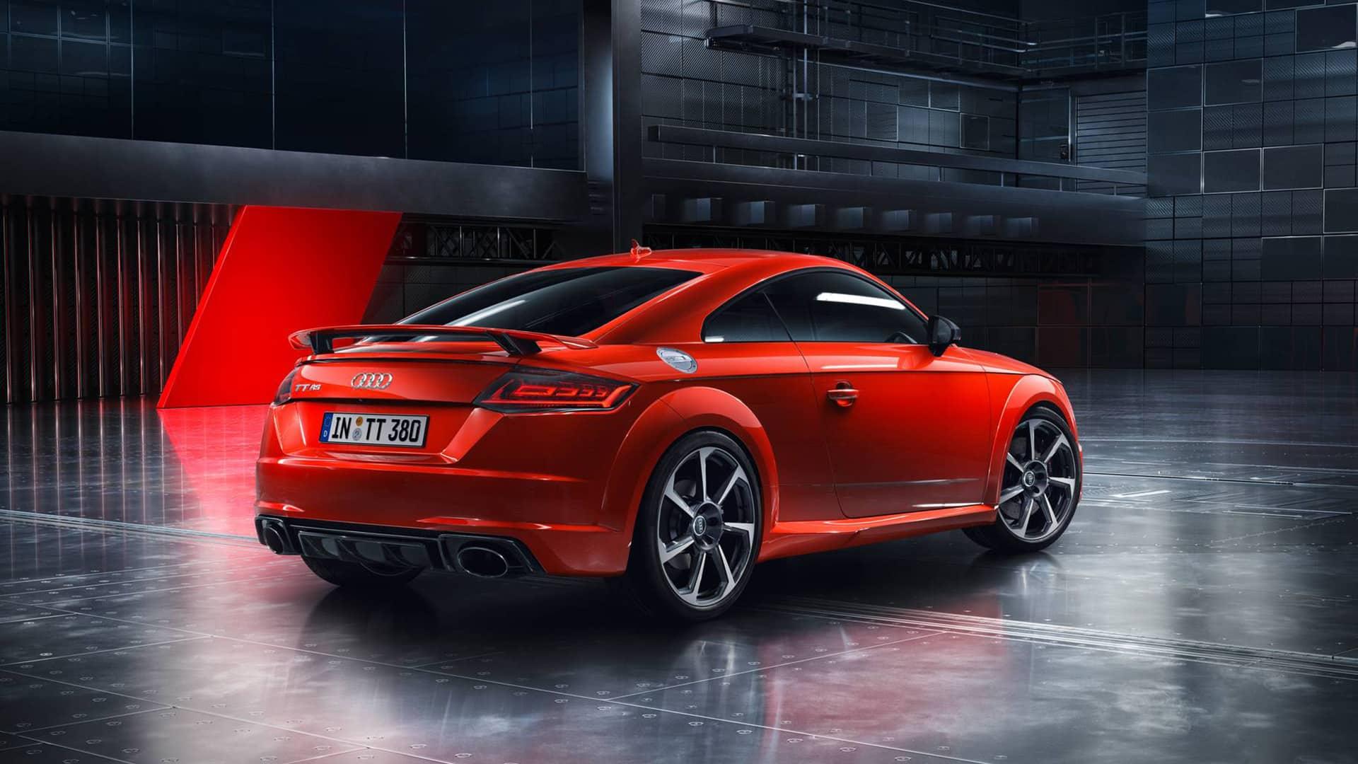 TT RS Coupé > Home - Audi SA