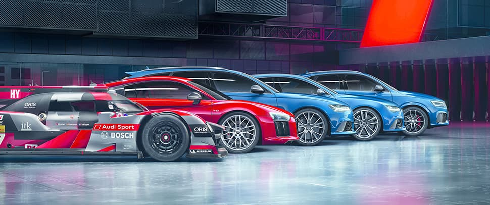 Audi Sport The Ultimate League Of Performance Local News Layers - Audi news