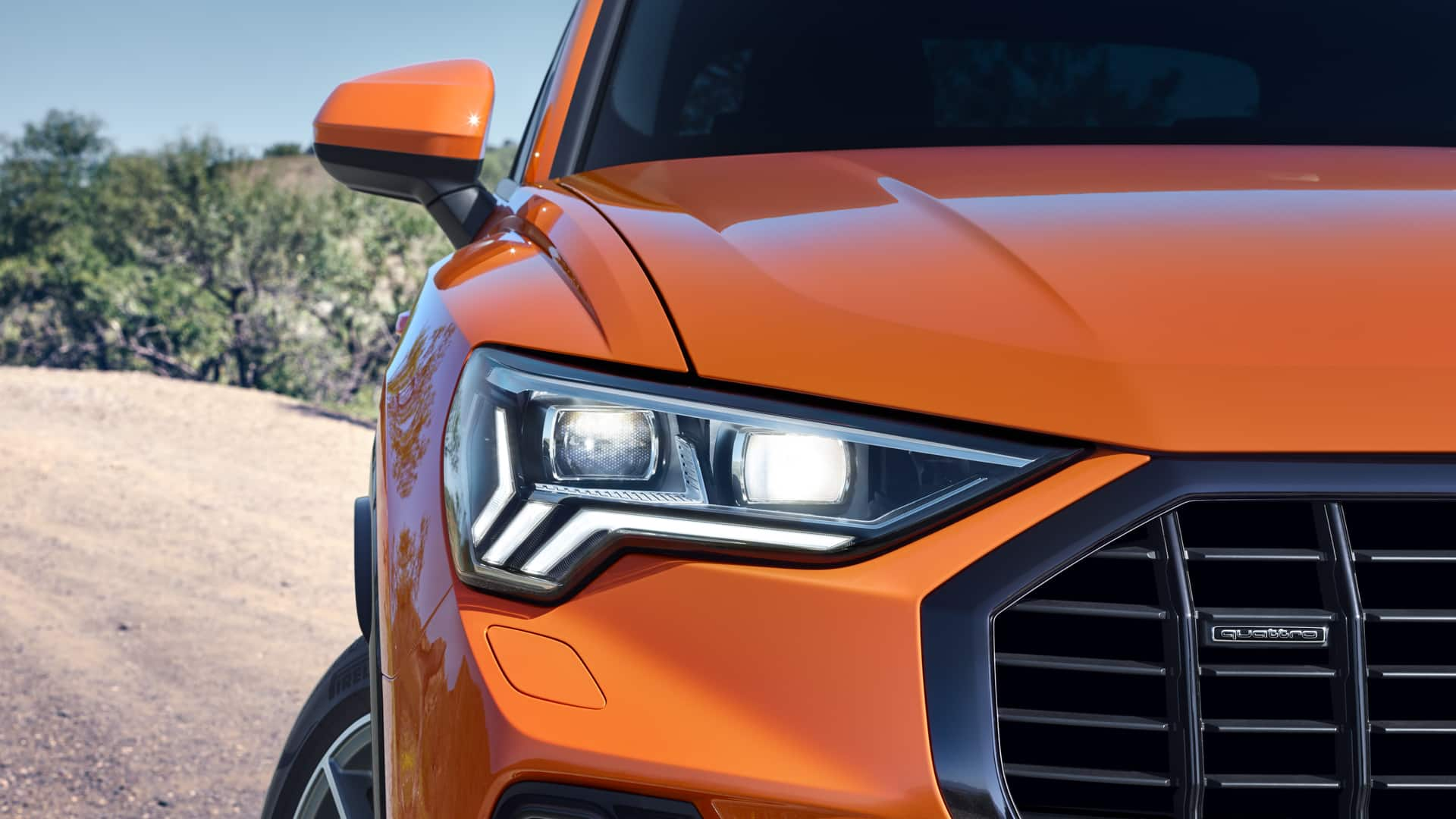 The lighting technology of the new Audi Q3