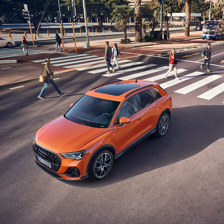 The driver assistance systems of the new Audi Q3
